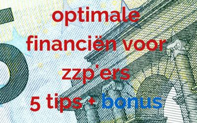 Blog: Financiën & administratie voor zzp'ers