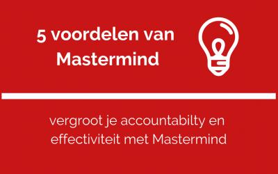5 voordelen van mastermind