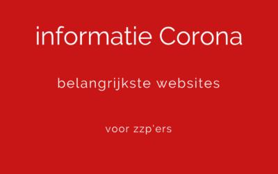 Belangrijke Corona maatregelen voor jou als zzp'er