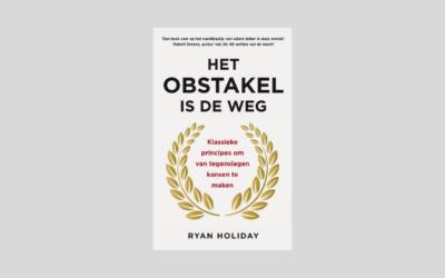 Boek: Het obstakel is de weg