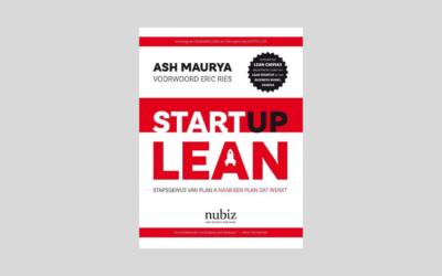 Boek: Startup Lean