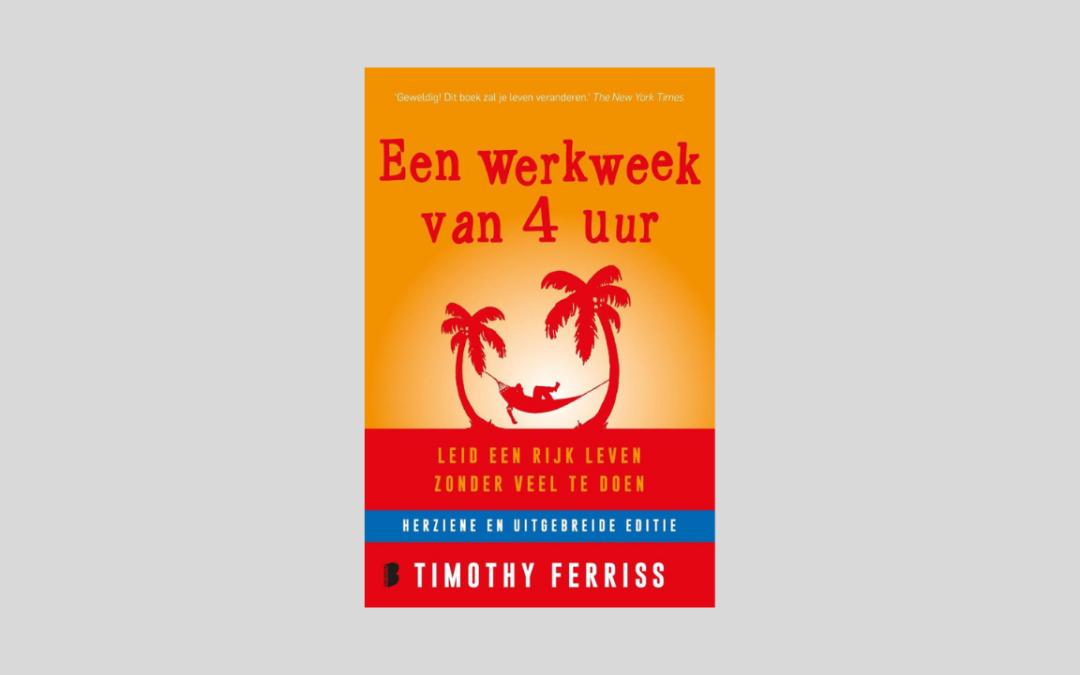 Cover boek Een werkweek van 4 uur.
