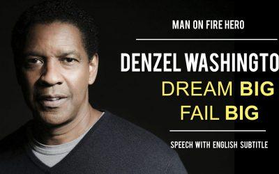 Video: Denzel Washington – Fall Forward!
